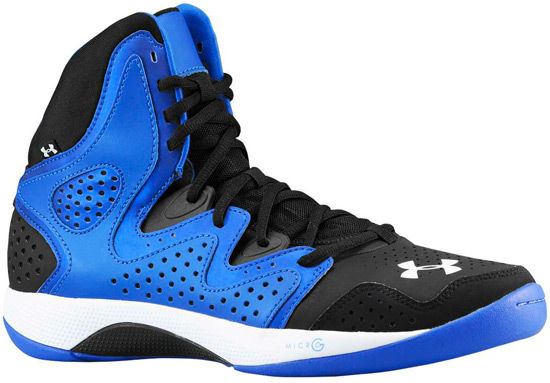 Under Armour Micro G Torch 2 Black And Blue Under Armour Micro G T...