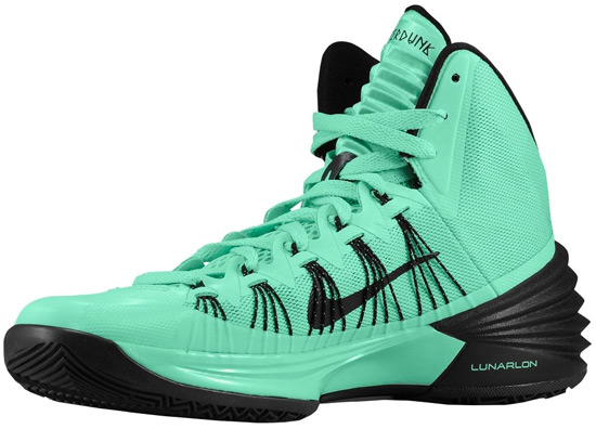 green and black hyperdunks