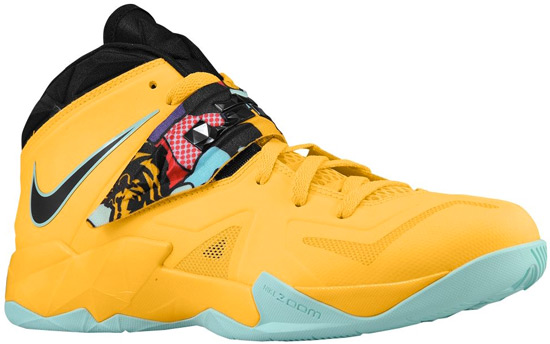 Lebron Soldier 7 Yellow Along with LeBron s Art Deco