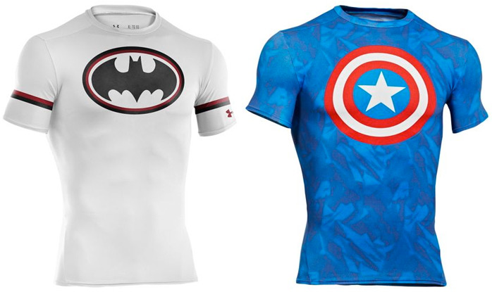 Under Armour Alter Ego Super Hero Compression Shirts