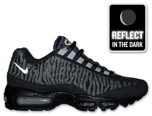 Nike Air Max 95 Black And Silver