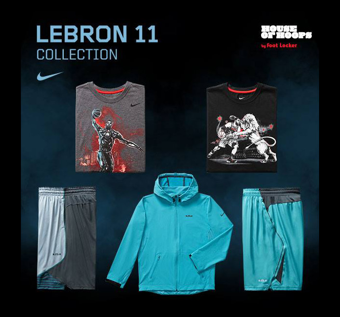 Lebron 11 Gamma Blue Outfit images