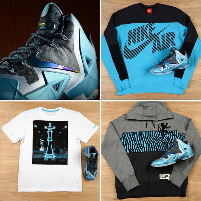 "Nike LEBRON 11 ""Gamma Blue"" Gear   SportFits.com"