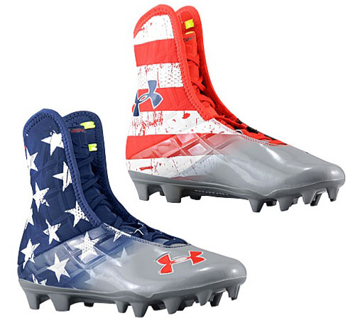 Under Armour Highlight MC Football Cleats    Wounded Warrior Project    Under Armour Hulk Socks