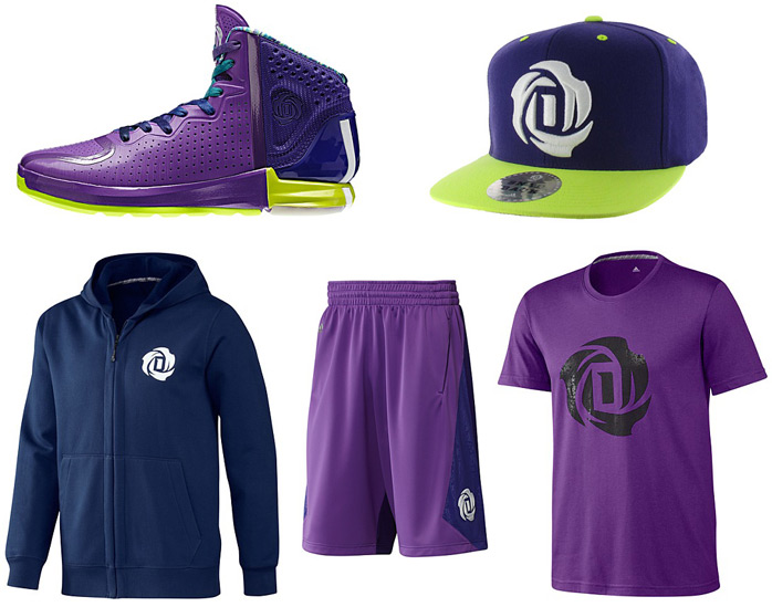 adidas derrick rose apparel