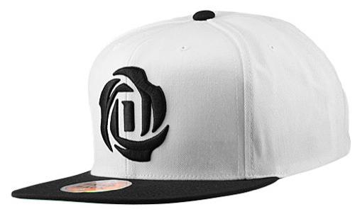 d742e61cb0fac adidas d rose hat white black d rose cap