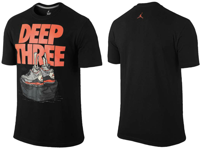 Air Jordan 3 Infrared 23 Clothing Shirts And Shorts