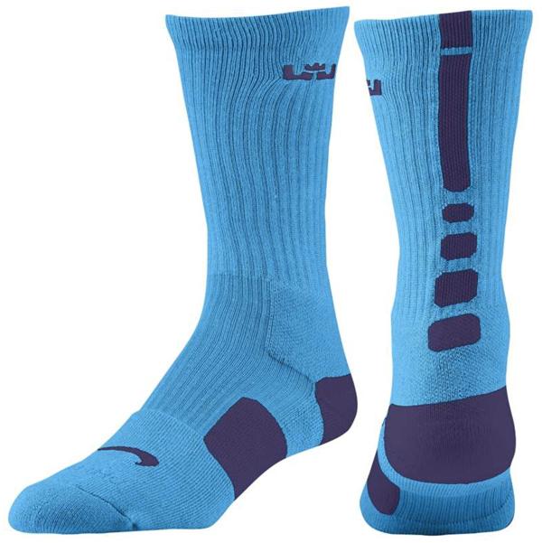 Lebron 9 Hornets Socks nike-lebron-socks-summit-lake-