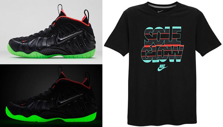 "Nike Air Foamposite Pro ""Yeezy"" Sole Glow Shirt ... Yeezy Foams Shirt"