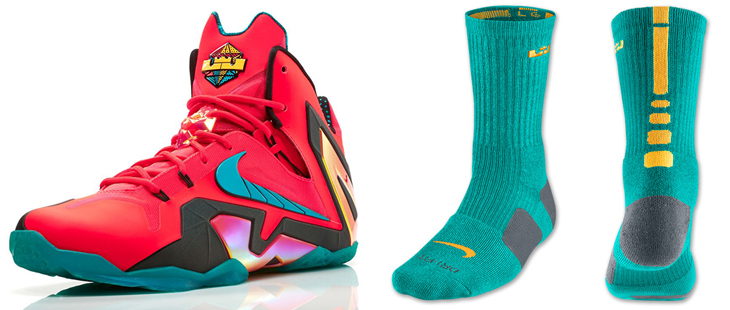 Nike Lebron 11 Elite Socks