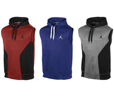 Jordan Dominate Sleeveless Hoodie | SportFits.com