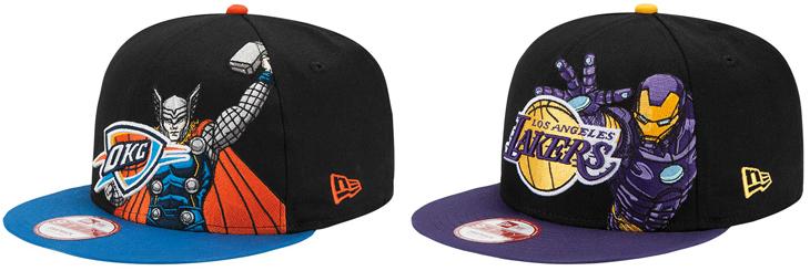 Caps New Era Nba New-era-nba-marvel-caps-4