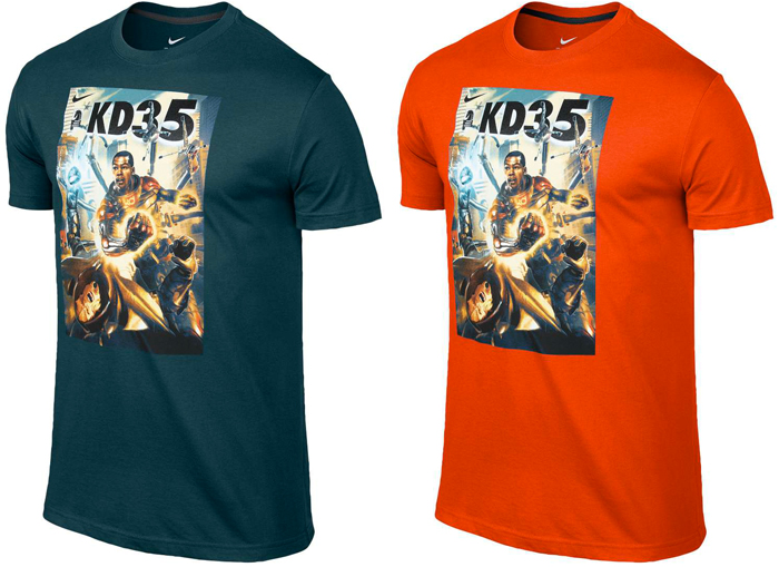 Shirts to Wear with the Nike KD 6 Elite Hero | SportFits.com | 700 x 509 jpeg 226kB