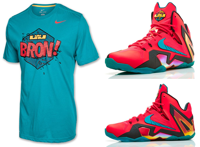 lebron 11 elite hero shirt - photo #2