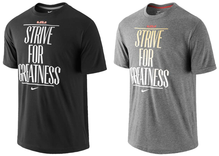 Strive For Greatness Nike Nike Lebron Strive For