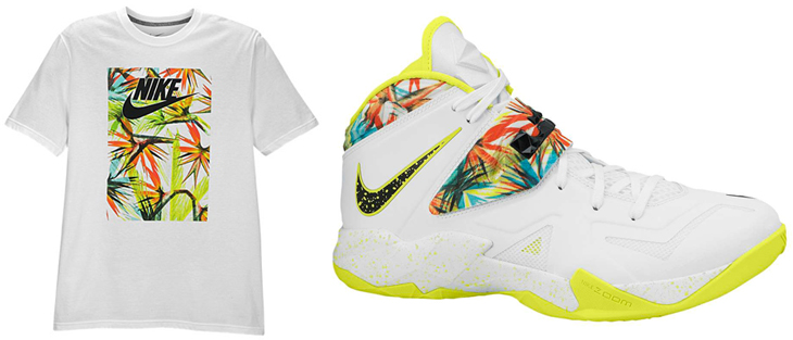 Nike LeBron Zoom Soldier VII    King   s Pride    T-ShirtLebron Soldier 7 Kings Pride