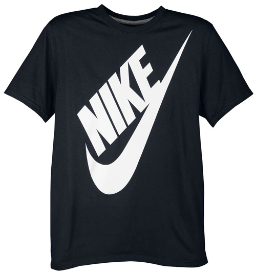 nike shirts to sport with the nike air foamposite one black white. Black Bedroom Furniture Sets. Home Design Ideas