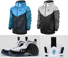 nike air max 2010 chaussure de course - Nike Air Foamposite One Concord Black White Clothing Jackets ...