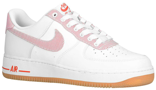 grey and pink fabric air force 1