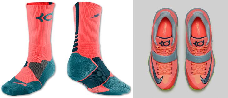 Kd 7 35k Degrees On Feet Nike KD 7 35000 Degree...