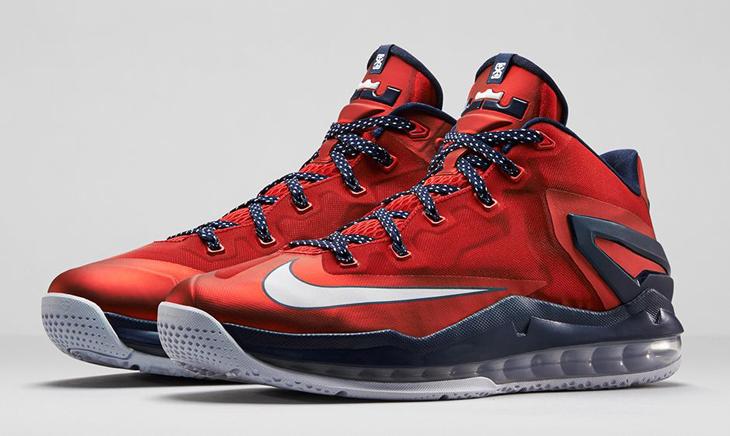 Nike LeBron 11 Low Independence Day USA Shorts | SportFits.com