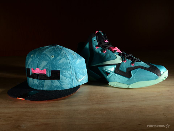 "Nike LeBron 11 ""South Beach"" Hat 