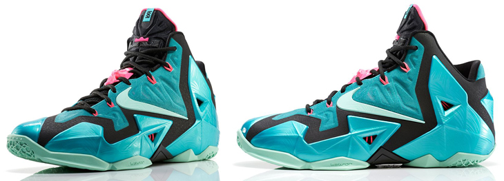 nike lebron 11 south beach collection
