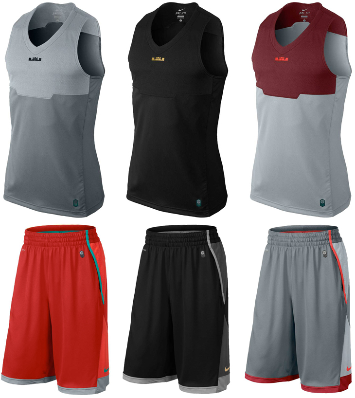 lebron james nike clothing