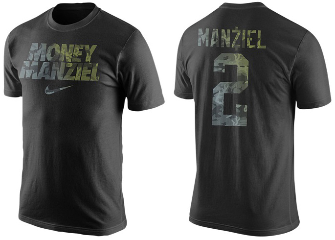 Nike Money Manziel Shirt | SportFits.com