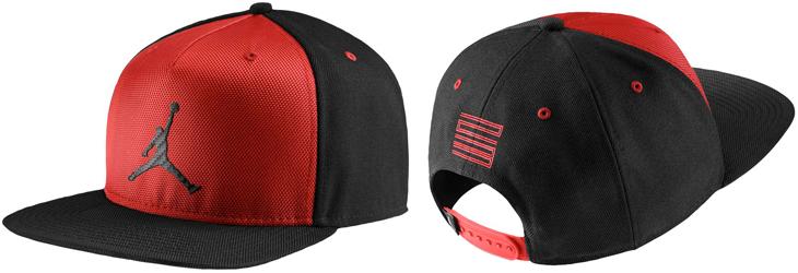 Jordan Caps Red