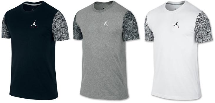 Air Jordan 3 Wolf Grey Clothing Shirts