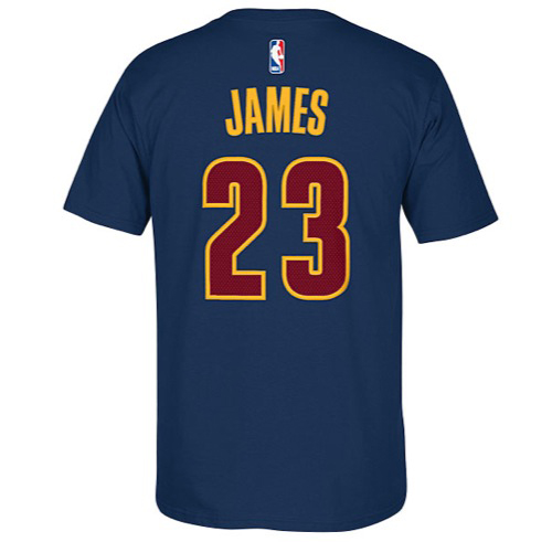 LeBron James Cleveland Cavaliers 23 NBA Shirts | SportFits.com