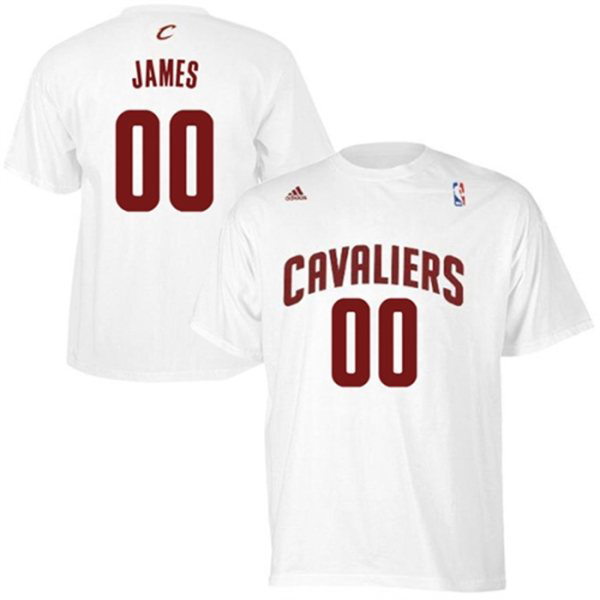 LeBron James Cleveland Cavaliers Adidas NBA Shirts | SportFits.com