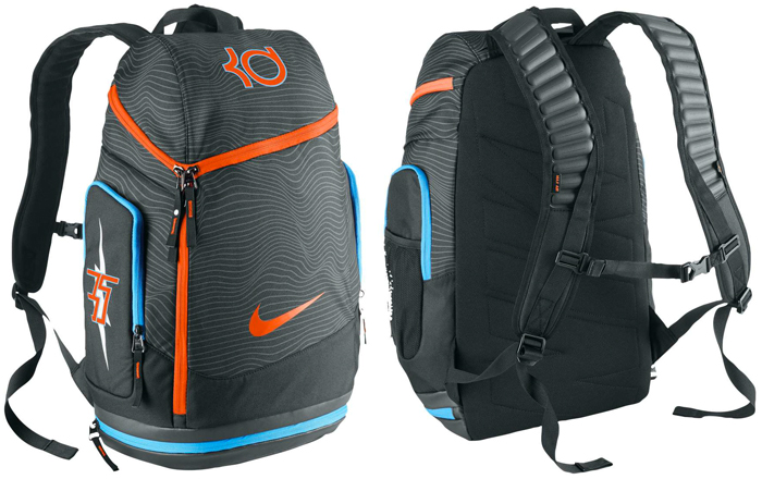 Nike Kevin Durant Kd Max Air Backpack Anthracite Black