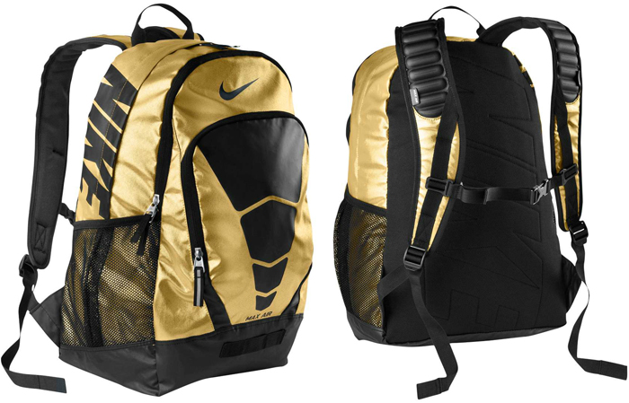 HKFYG Lee Shau Kee College - Nike Air Max Backpack Gold 52c7bfab1b433