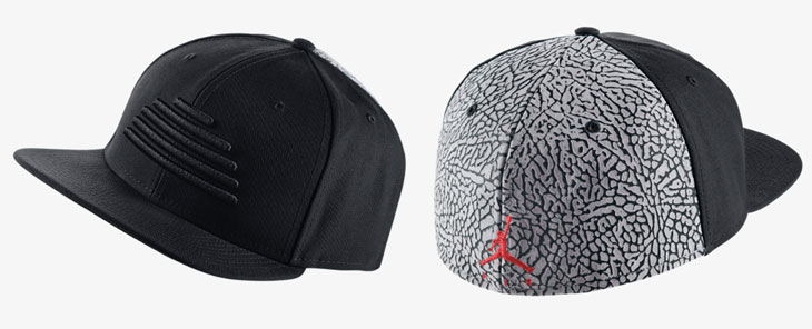 d14ff22e74c9f5 ... purchase jordan hats black and red 19b0d c3d01