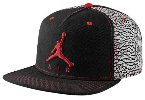 Jordan Hats Black And Red