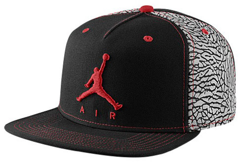 Jordan Cap Red Black