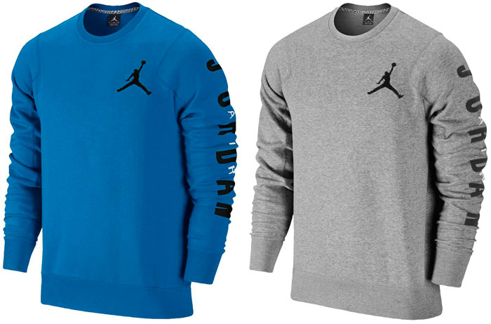 air jordan crew neck sweaters
