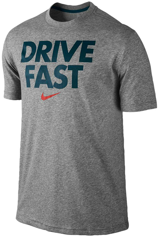 Nike Sport Shirt Nike Drive Fast Shirt Grey