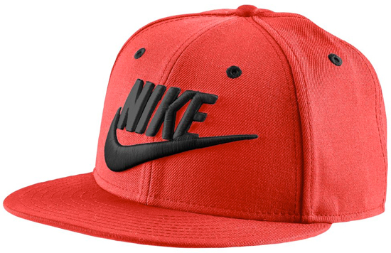 Nike Cap Red And Black
