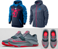 Nike KD Hoodies to Hook with the Nike KD 7 \u201cCalm Before the Storm\u201d