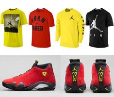 La Camisa Del Aire Jordan 14 Ferrari