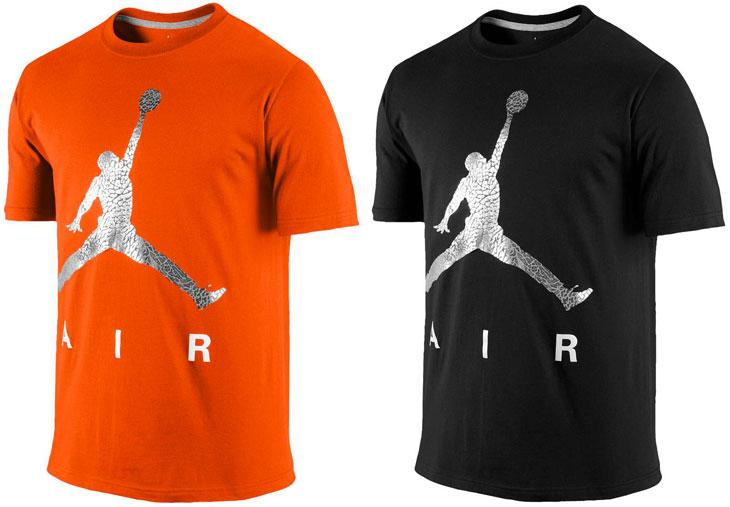orange jordan shirt