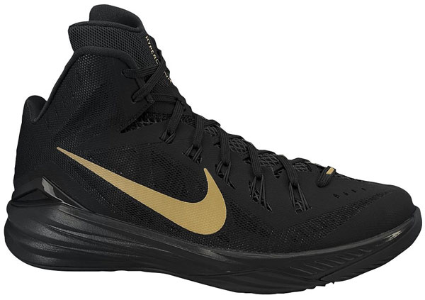 black and gold hyperdunks