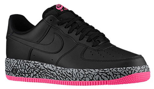 Nike Air Force 1 Black And Pink