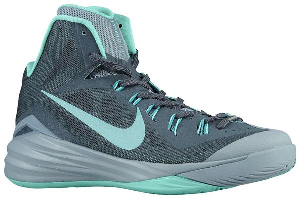 Nike Hyperdunk 2014 Dark Magnet Grey Catalina Turquoise ...