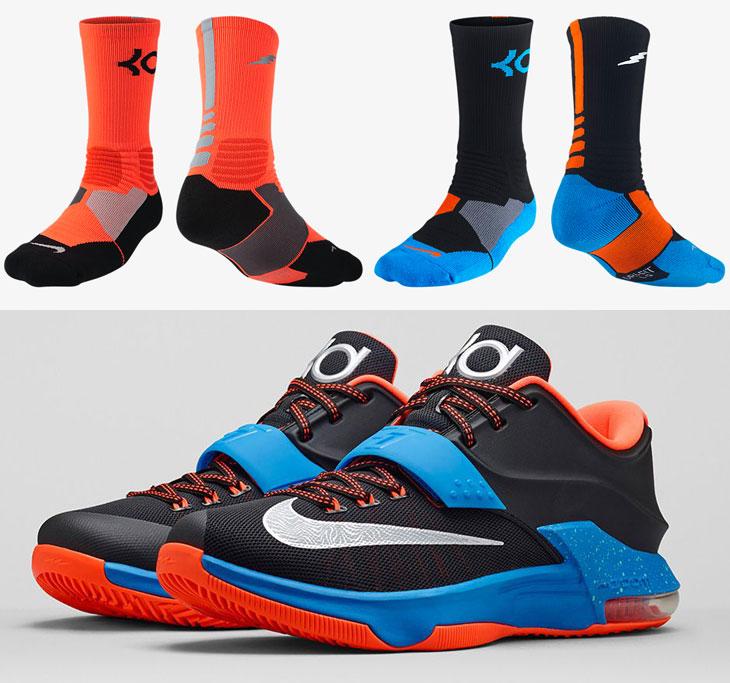 Nike KD 7 On the Road Socks | SportFits.com