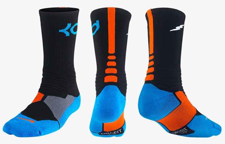 Nike Elite Socks Black And Blue