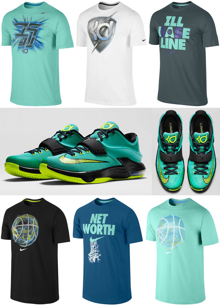 Nike kd vii shirts images galleries for Kevin durant weatherman shirt